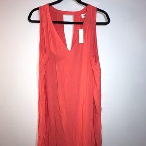 Pink old navy v-neck dress